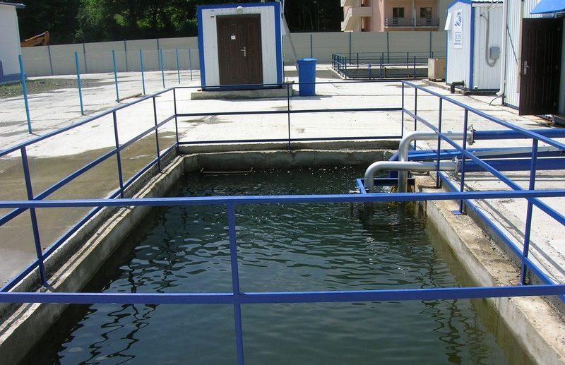 Строительство станции по очистке воды в Зуе