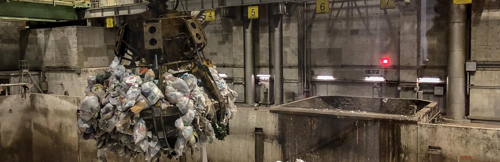мусороперерабатывающий завод в каменке