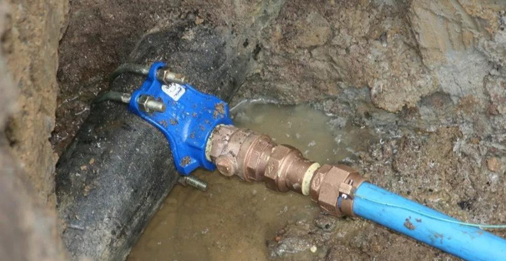 незаконное подключение к водопроводу в крыму