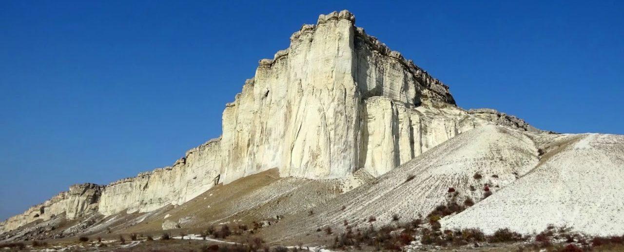 Белая скала Белогорск Крым фотография