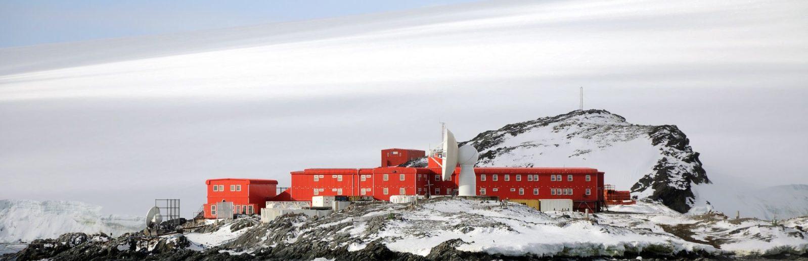 Bernardo O Higgins Riquelme база в антарктике