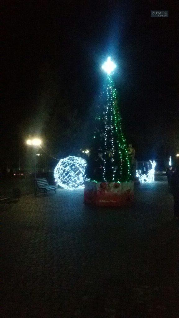 Новогодняя ёлка в Зуе