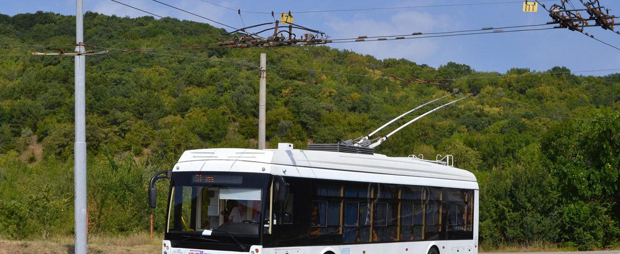 Троллейбус в Крыму