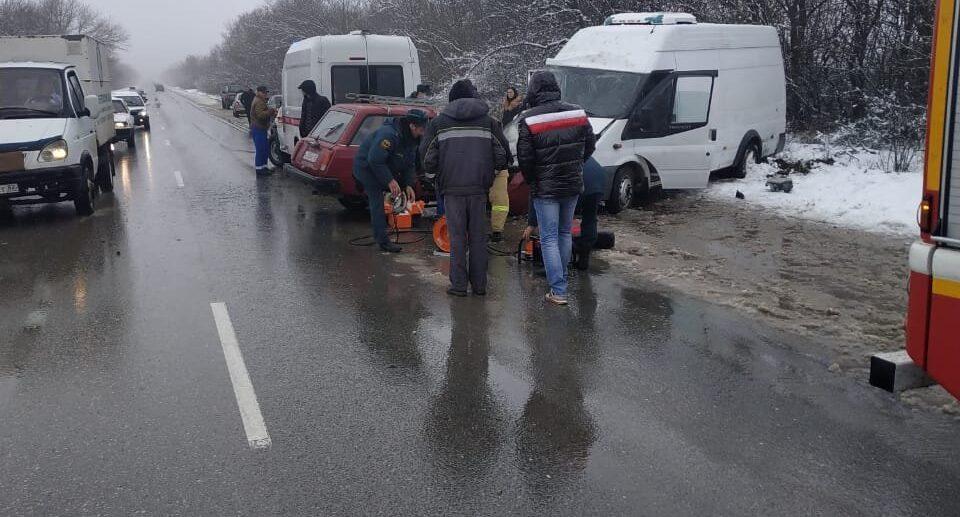 ДТП в Кировском районе село Отважное