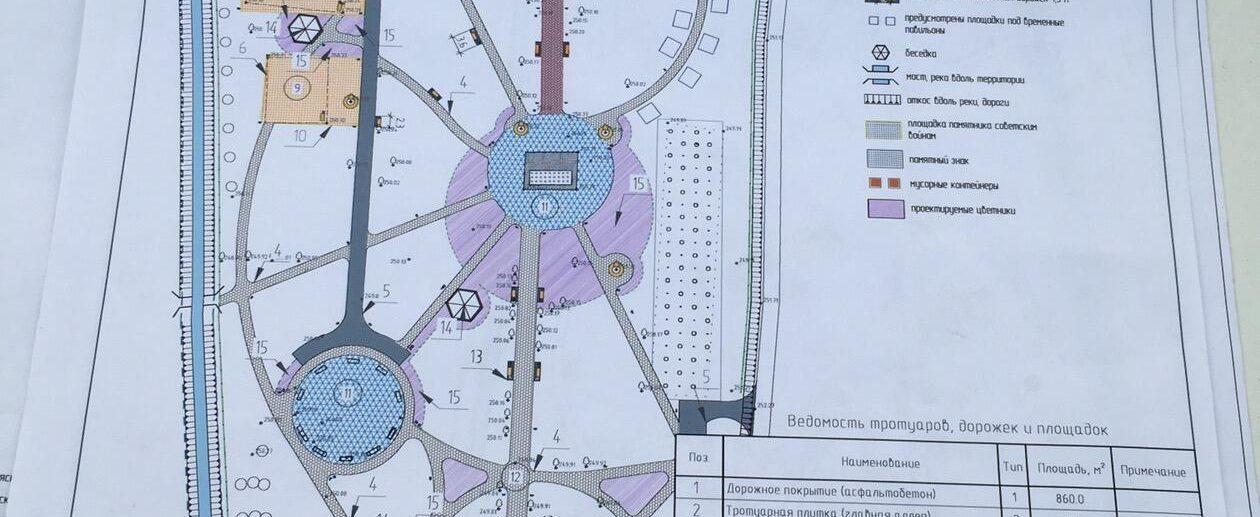 парк Зуя план