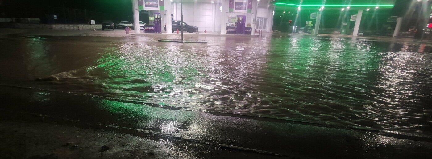 Наводнение в Симферополе