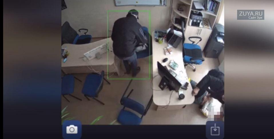 Ограбление офиса недвижимости в Крыму