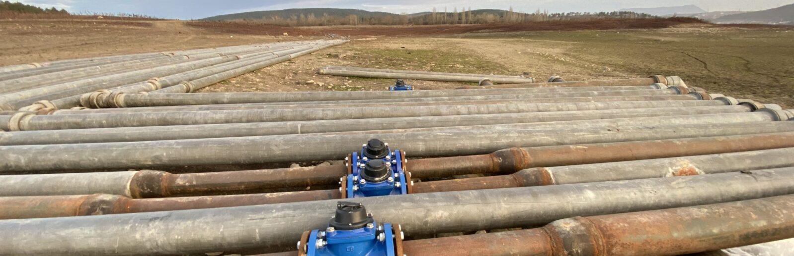 Водопровод из Белогорска в Симферополь