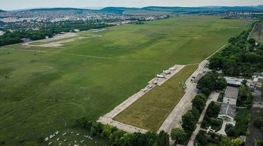 Аэропорт Ззаводское в Крыму