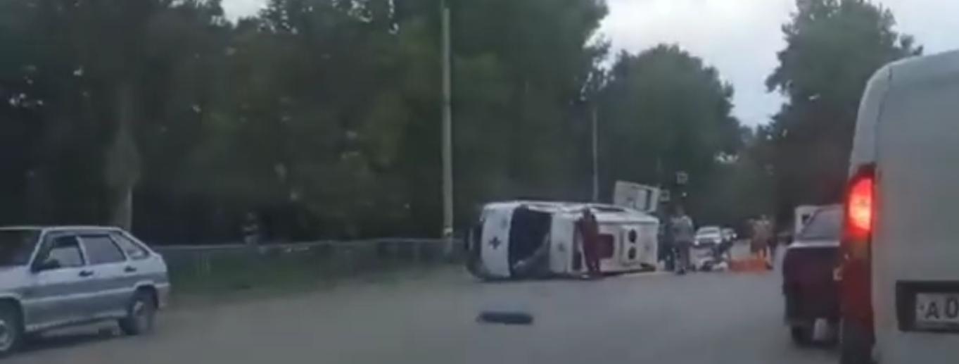 ДТП в Керчи со скорой Видео