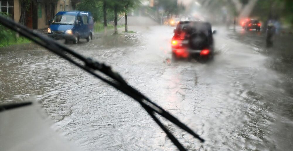 Наводнение в Керчи 12 августа 2021