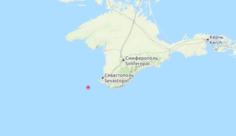 Землетрясение в Крыму