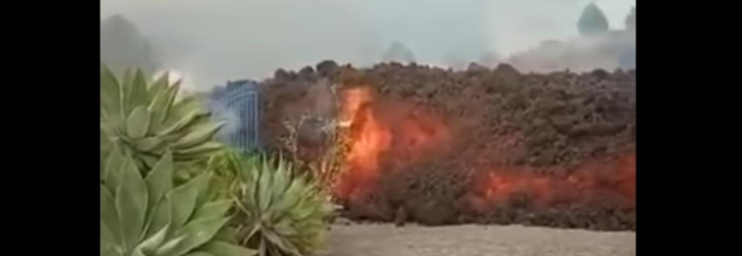 Извержение вулкана на канарских островах - видео подборка