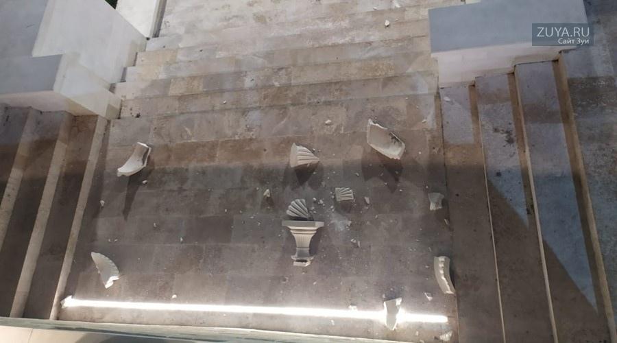 Митридатская лестница в Керчи Фото: МВД по Республике Крым